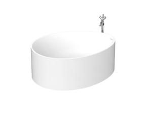 Ovo bathtub 149*113 pillar