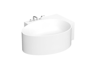 Ovo bathtub 163r corner